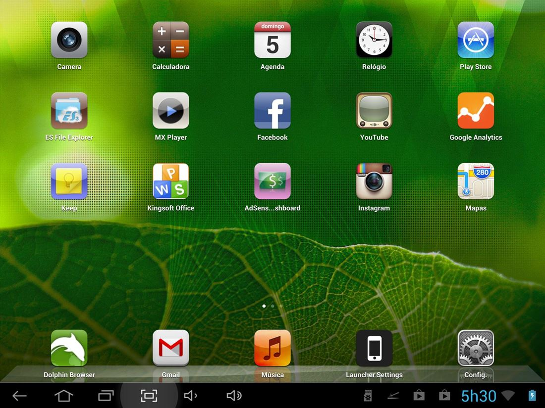ilauncher tablet6