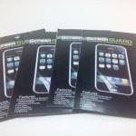 Conjunto com cinco protetores de LCD para o Samsung Galaxy S3 i9300