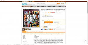 PS3 Grand Theft Auto V GTA 5 Video Game- Playstation 3 - Free Shipping - DealExtreme
