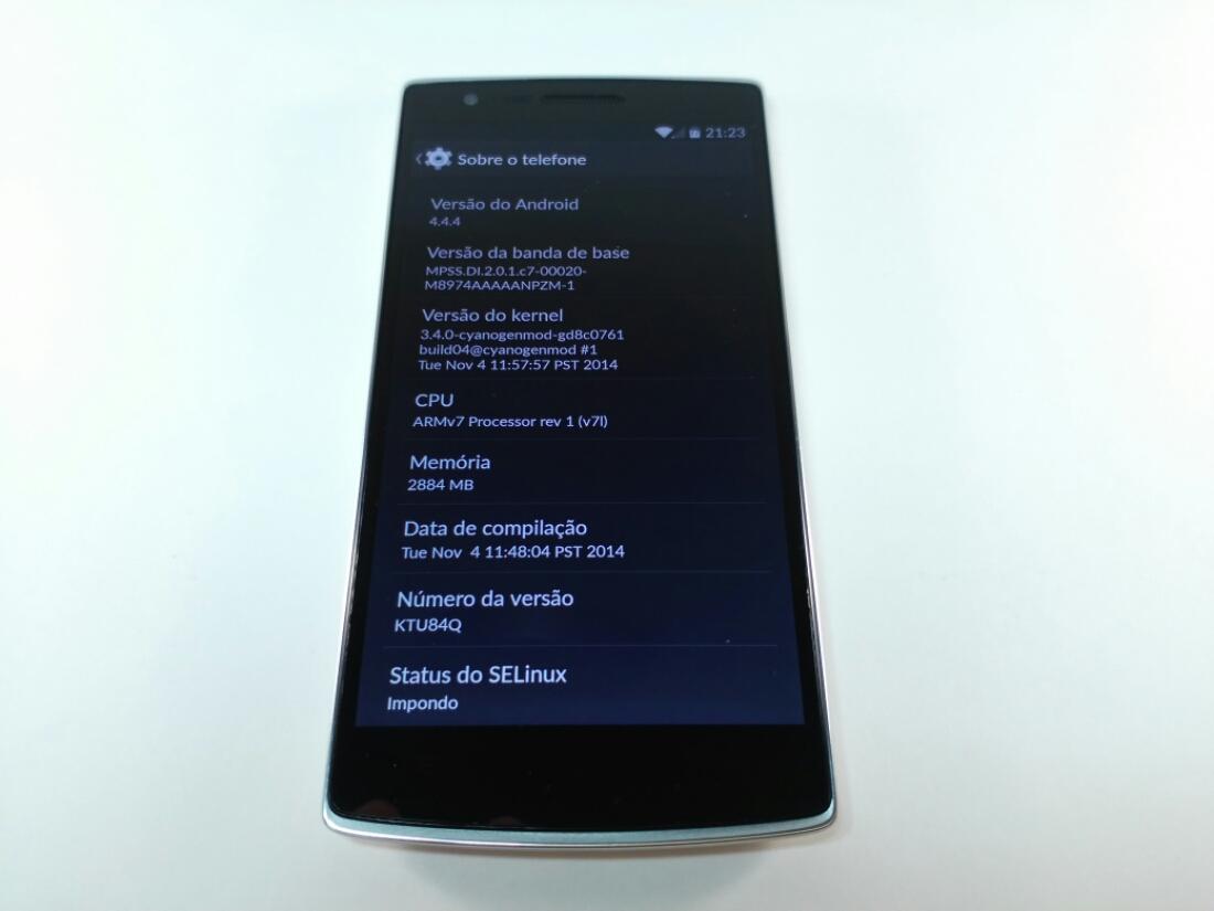 OnePlus One A0001 LTE 4G 3G RAM 2 5GHz Quad Core (VEJA O