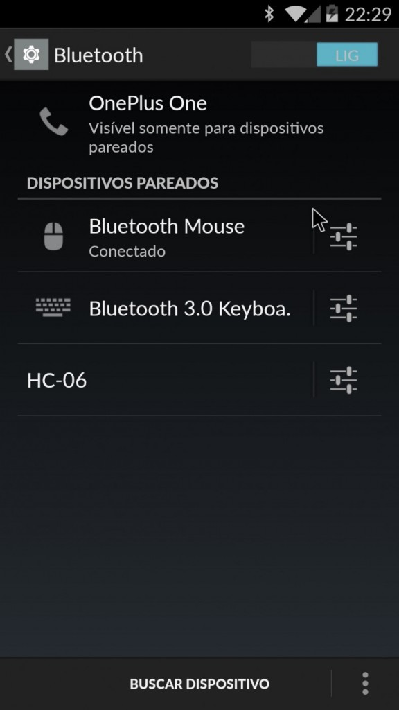 Bluetooth-Maus android